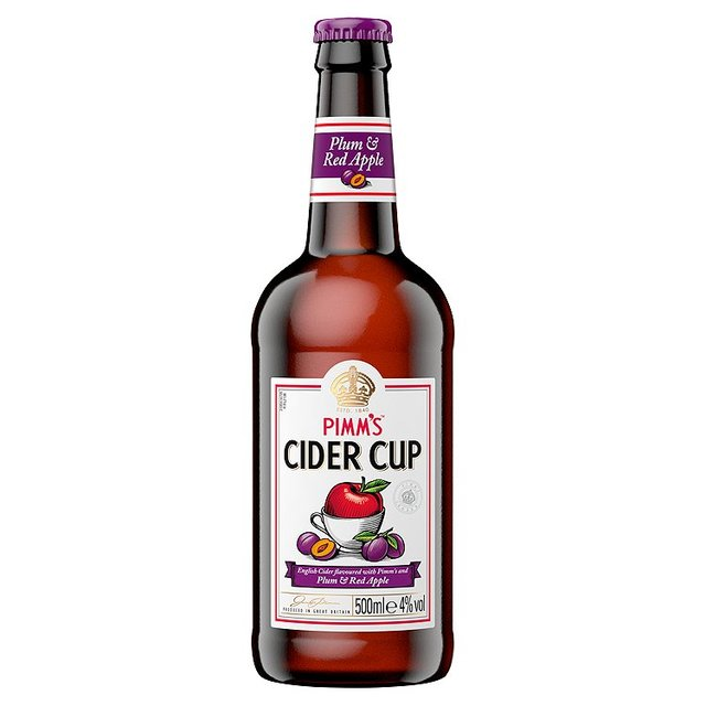 Pimms Cider Cup Plum & Red Apple