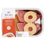 Morrisons Gammon Steaks With Pineapple Glaze