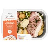 Morrisons Pork Loin Steaks With Bubble & Squeak