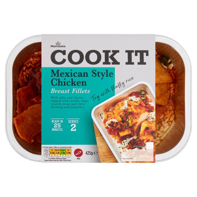 Morrisons Mexican Chicken 425gProduct Information