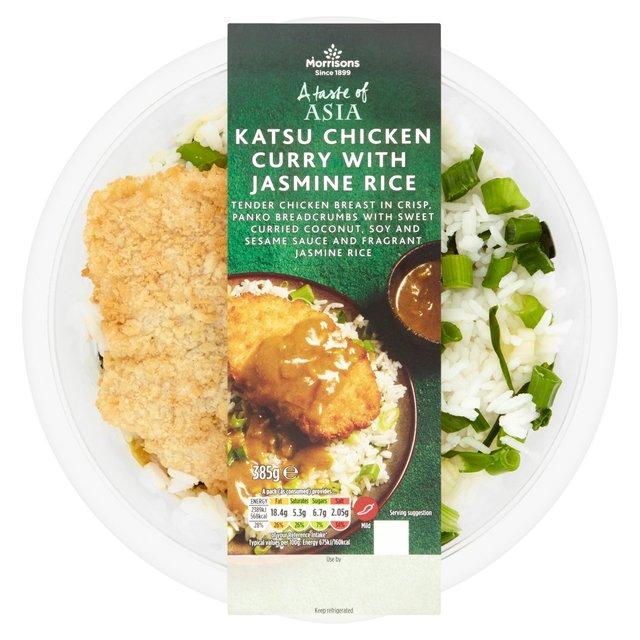 Morrisons Morrisons A Taste Of Asia Breaded Chicken Katsu 385g