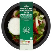 Morrisons A Taste of Asia Firecracker King Prawn & Jasmine Rice