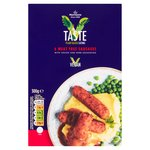 Morrisons 6 Meat Free Sausages