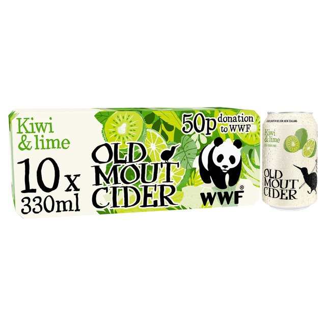 Old Mout Cider Kiwi & Lime Cans