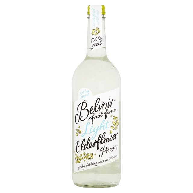morrisons belvoir fruit farms light elderflower presse 750ml product information. Black Bedroom Furniture Sets. Home Design Ideas