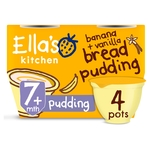 Ella's Kitchen Banana & Vanilla Bread Pudding