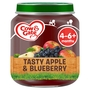 Cow & Gate Tasty Apple & Blueberry Fruit Puree Jar