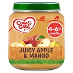 Cow & Gate Juicy Apple & Mango Fruit Puree Jar