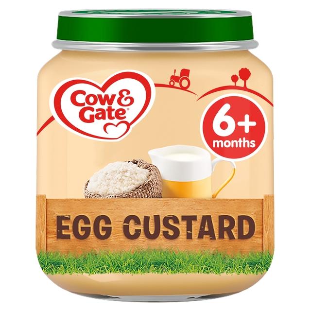 Morrisons Cow Amp Gate Egg Custard Jar 125g Product