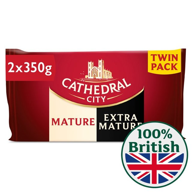 Cathedral City Mature & Extra Mature Cheese Twin Pack
