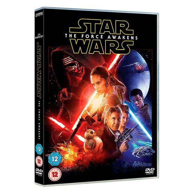 Star Wars The Force Awakens DVD (12)
