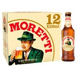 Birra Moretti Lager Beer Bottle