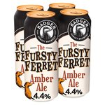 Badger Fursty Ferret Amber Ale 4x500ml
