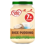 Cow & Gate Rice Pudding Jar