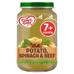 Cow & Gate Potato, Spinach & Beef Jar