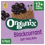 Organix Blackcurrant Organic Soft Oat Snack Bars Multipack
