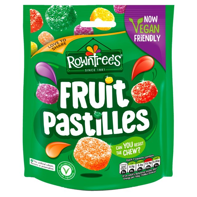 Rowntrees Fruit Pastilles Sweets Sharing Bag