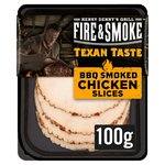 Fire & Smoke BBQ Smoked Chicken Slices