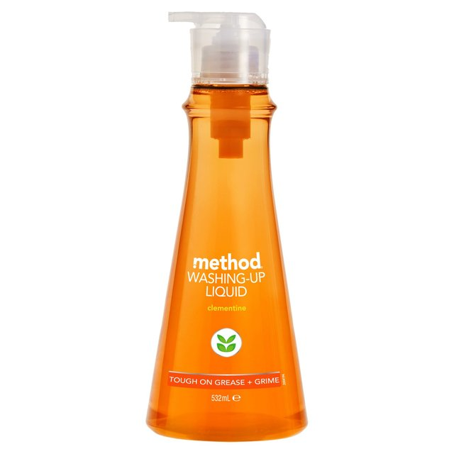 Morrisons method clementine washing up liquid 532ml for Method bathroom cleaner ingredients