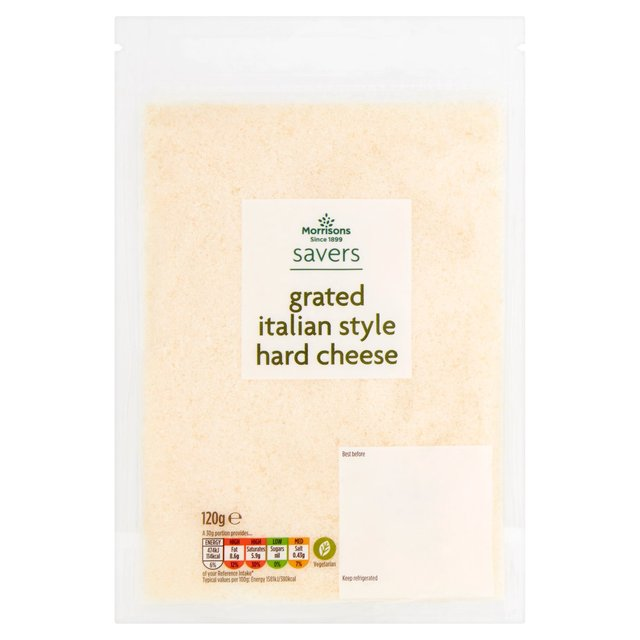 Morrisons Savers Grated  Hard Cheese