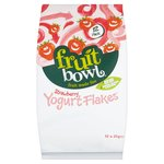 Fruit Bowl Strawberry Yogurt Flakes