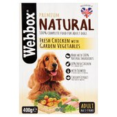 Webbox Natural Complete Dog Chicken & Vegetables