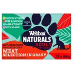 Webbox Natural Mixed Selection In Gravy
