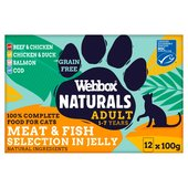 Webbox Natural Complete Meat Selection In Jelly