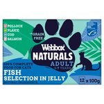 Webbox Natural Fish Selection In Jelly
