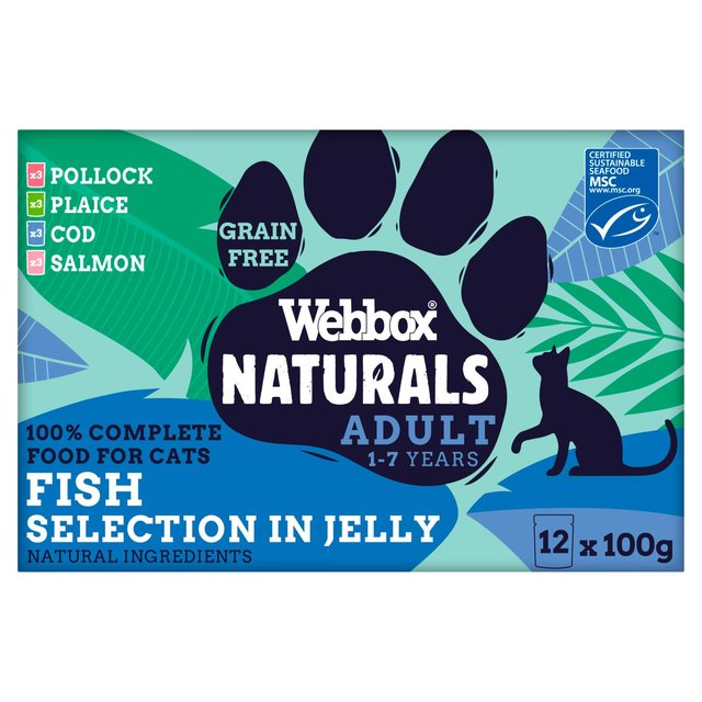Webbox Natural Complete Fish Selection In Jelly