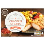Morrisons Hot & Spicy Chicken Steaks 4 Pack