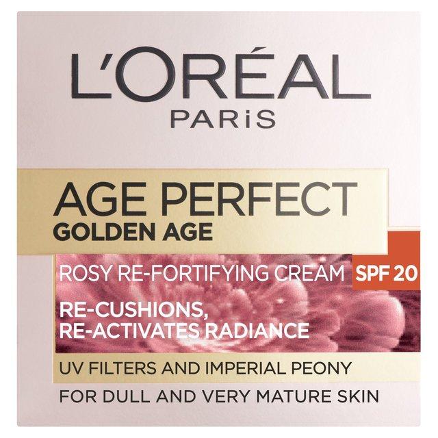Morrisons Loreal Paris Age Re Fortifying Cream Spf 15 50ml