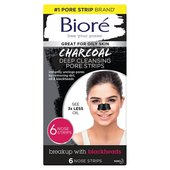 Biore Charcoal Pore Strips 6Pk at Morrisons