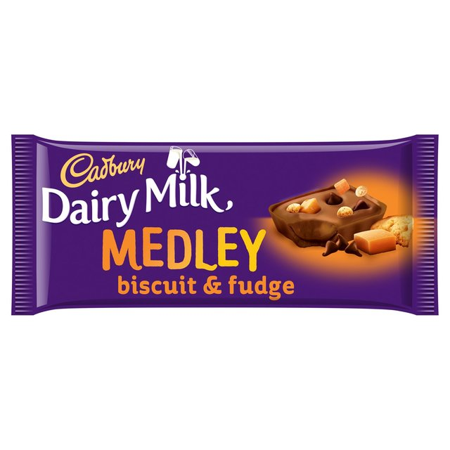 Cadbury Dairy Milk Medley Dark Chocolate & Fudge
