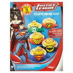 Warner Brothers Justice League Cupcake Kit