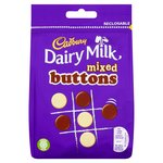 Cadbury Dairy Milk Mixed Buttons Chocolate Bag