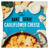 Morrisons Cauliflower Cheese