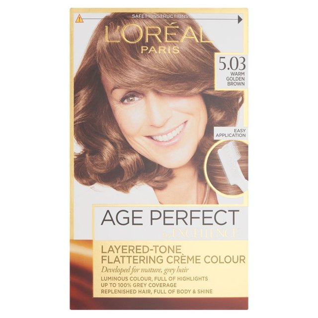 L'Oreal Age Perfect 5.03 Golden Brown
