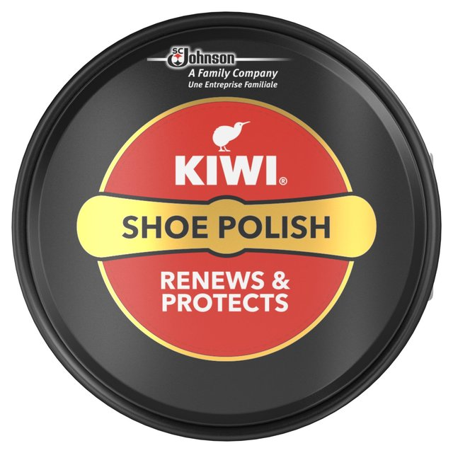 How To Polish Black Shoes With Kiwi