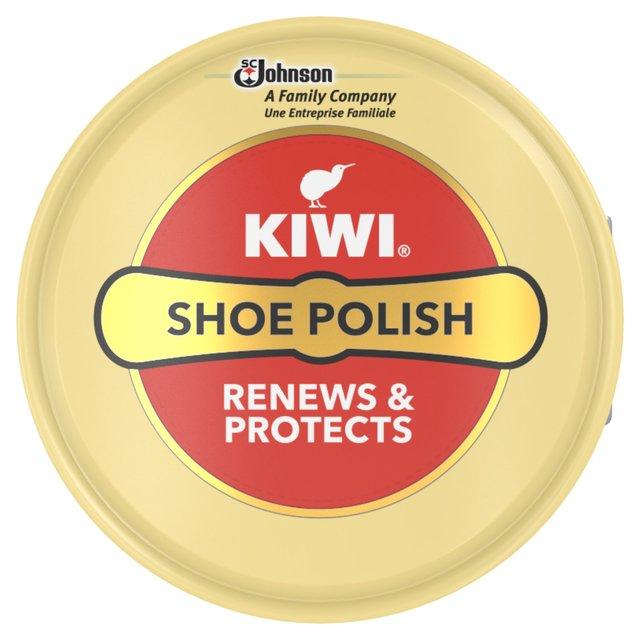 Kiwi Shoe Polish Tin Neutral