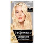 L'Oreal Preference Blondissimes Natural Blonde 01
