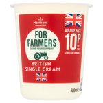 Morrisons For Farmers Single Cream