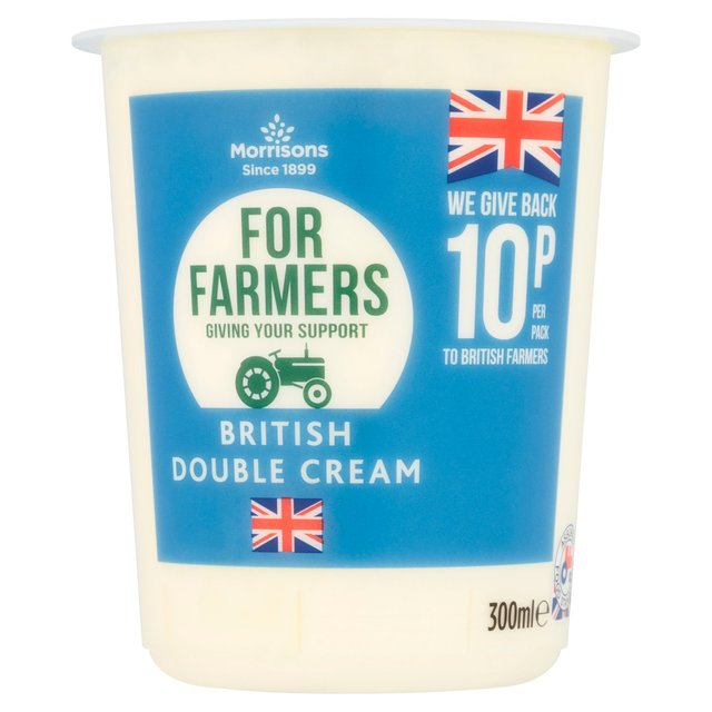Morrisons For Farmers Double Cream