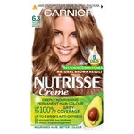 Garnier Nutrisse Creme 6.3 Caramel Golden Light Brown
