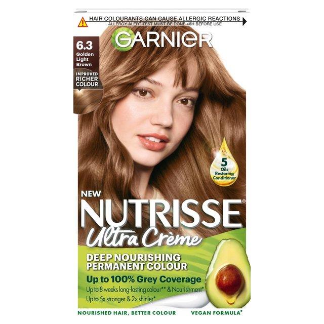 Garnier Nutrisse Creme 6 3 Caramel Golden Light Brown