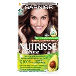 Garnier Nutrisse Creme 4 1/2 Pure Chocolate Medium Dark Brown
