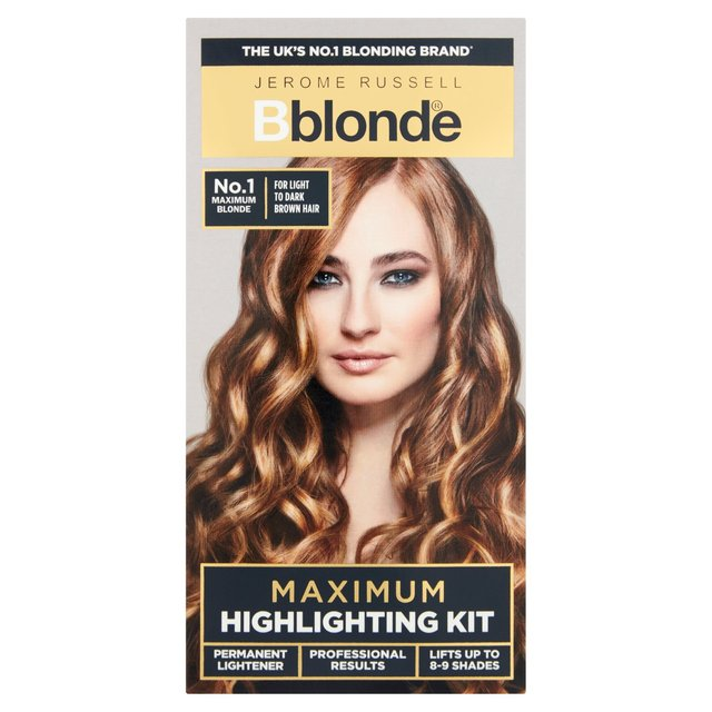 Morrisons Jerome Russell B Blonde Maximum Highlighting Kit No1