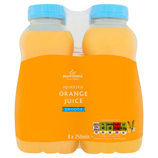 Morrisons Not From Concentrate Orange Juice