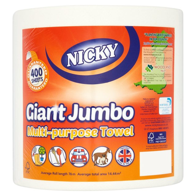 Nicky Giant Jumbo Multi Purpose House Towel