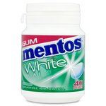 Mentos White Spearmint Gum 40 Pieces